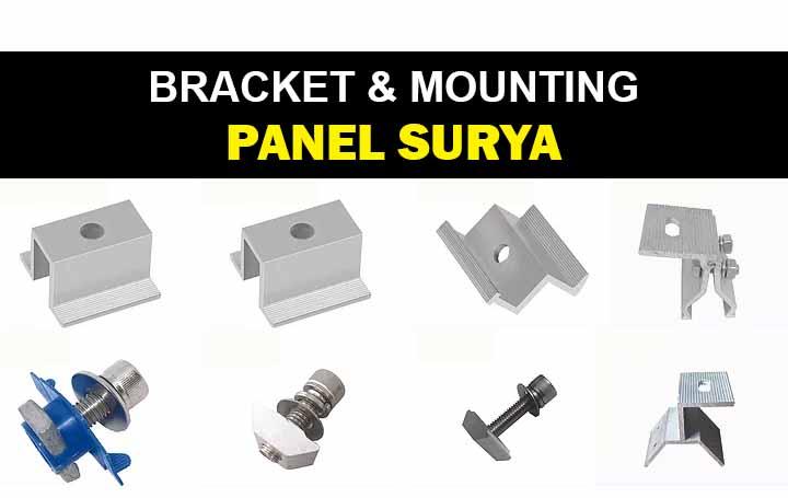 bracket dan mounting panel surya