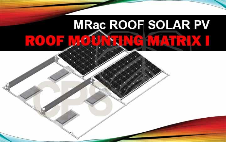 Sistem Mounting Panel Surya Atap Matrix I