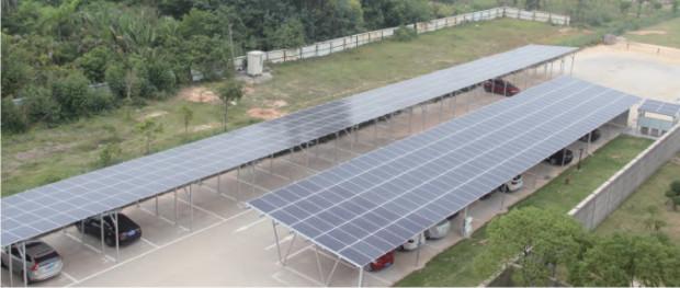 plts energi baru terbarukan dengan panel surya atap